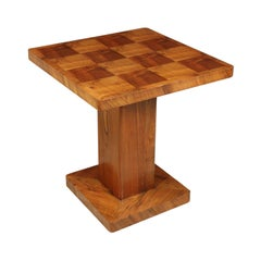 Art Deco Walnut Table, circa 1930