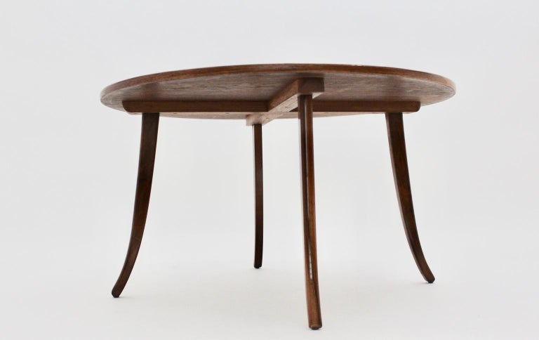 Astounding Art Deco Walnut Vintage Sofa Table In The Circle Josef Frank By Felix Augenfeld Andrewgaddart Wooden Chair Designs For Living Room Andrewgaddartcom