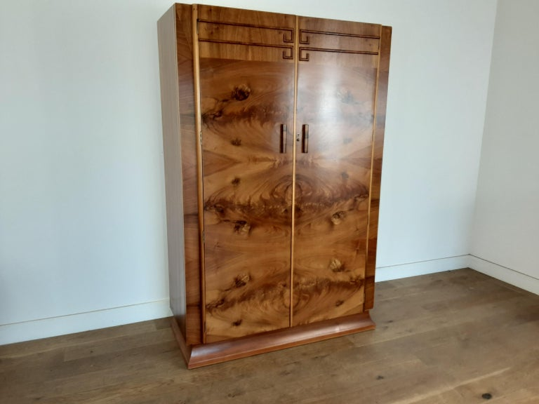 Art Deco wardrobe.