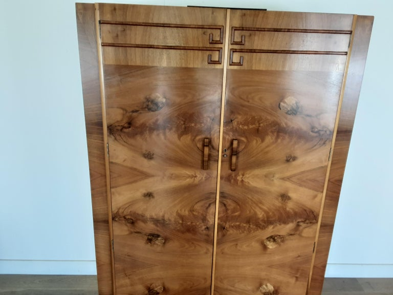 Art Deco Wardrobe In Good Condition For Sale In London, GB