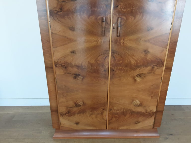 20th Century Art Deco Wardrobe For Sale
