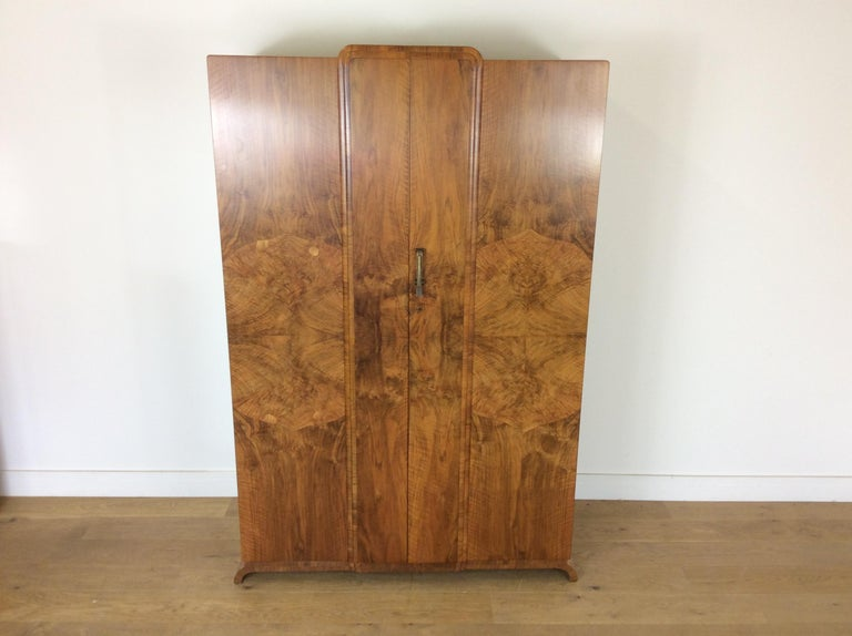 Art Deco Wardrobe Skyscraper Design In Good Condition For Sale In London, GB