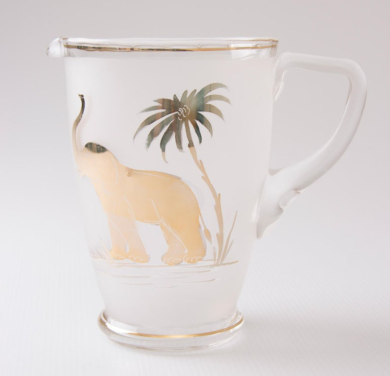 British Art Deco Water Set For Sale