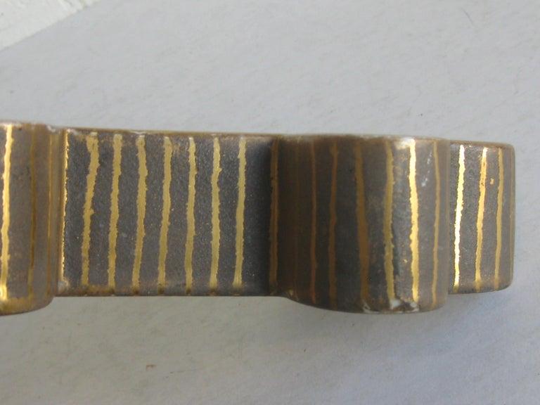Art Deco Waylande Gregory Studio Art Pottery Candlestick Holder Candleholder For Sale 9