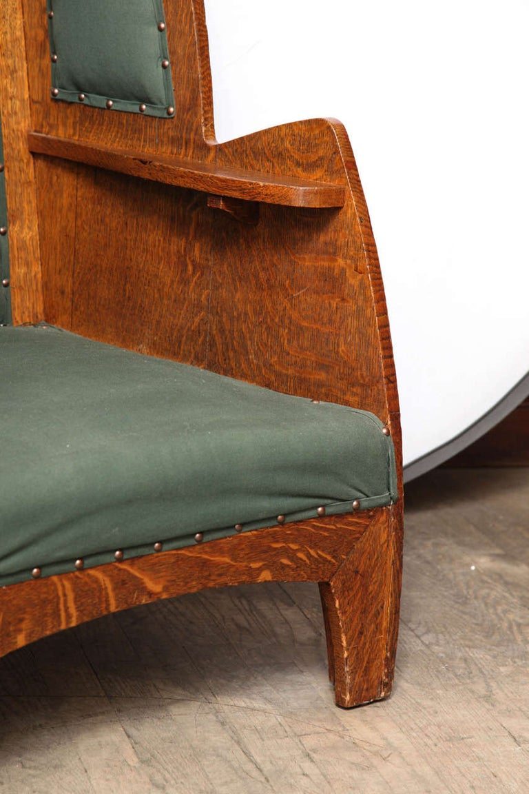 Art Deco Wing Chair For Sale 1