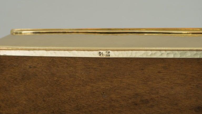 Art Deco WMF Hunting Motiv Jewelry Box, circa 1920s For Sale 3