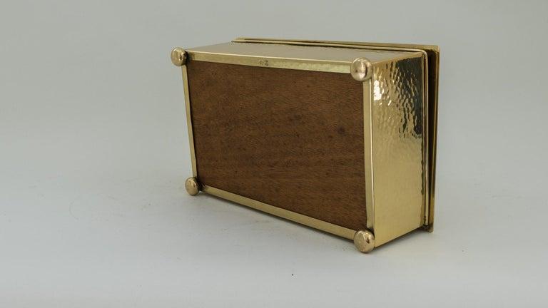 Art Deco WMF Hunting Motiv Jewelry Box, circa 1920s For Sale 2