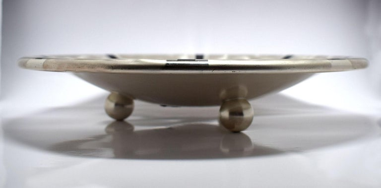 Art Deco Wmf Silver Plated Bowl For Sale 1