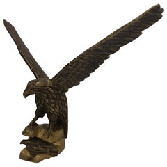 Art Deco Wood Sculptures of Eagles, Deutschland