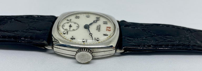 Art Deco Hermes Paris Collector's Wristwatch For Sale