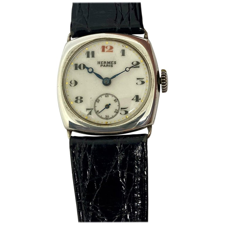 Hermes Paris Collector's Wristwatch For Sale