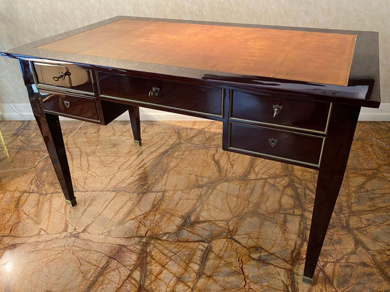 Mid-20th Century Art Deco Writing Desk, 1940s For Sale