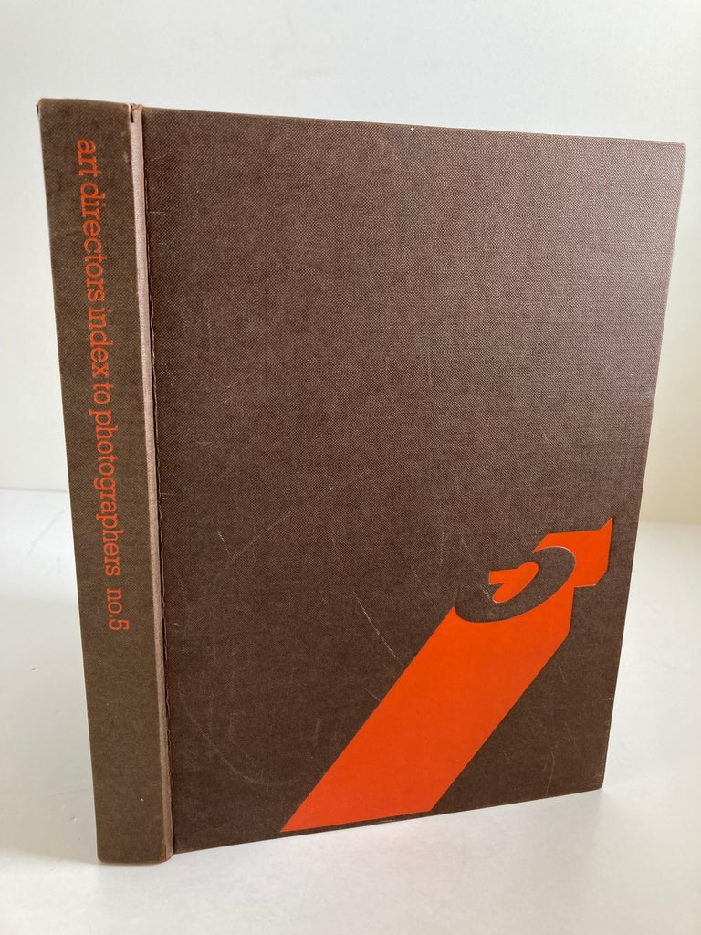 Modern Art Director's Index to Photographers No. 5 Hardcover, January 1, 1977 Book For Sale