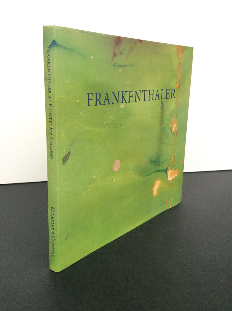 A beautifully illustrated exhibition catalogue surveying the works of American painter Helen Frankenthaler (1928-2011). The book was published in occasion of the 2008-2009 show at Knoedler & Company in New York City. Hardcover with dust-jacket and