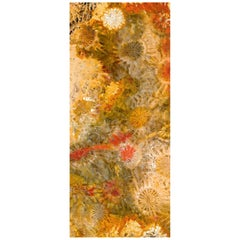 Art Glass Bloomer Decorative Panel for Multiple Uses Dimension Customizable