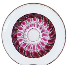 Art Glass Decorative Object, Signed