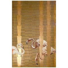 Art Glass & Flamant Mosaic Decorative Panel Multiple Uses Dimension Customizable