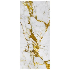 Art Glass Gold Decorative Panel for Multiple Uses Dimension Customizable