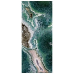 Art Glass Reef Decorative Panel for Multiple Uses Dimension Customizable