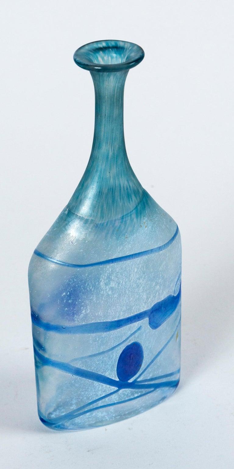 Art Glass Vase, Bertil Vallien, Kosta Boda, Sweden, circa 1970 For Sale 1