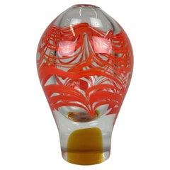 Art Glass Vase by Ivo Rozsypal, Czechoslovakia, 1970's