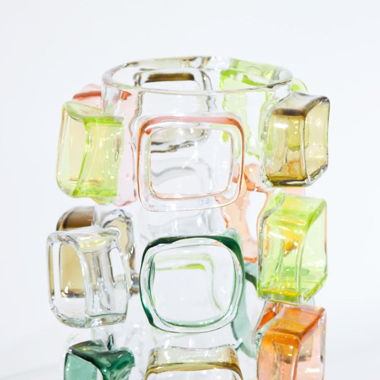 Art Glass Vase by Martin Potsch In New Condition For Sale In New York, NY
