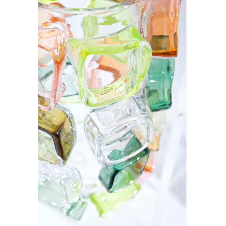 Contemporary Art Glass Vase by Martin Potsch For Sale