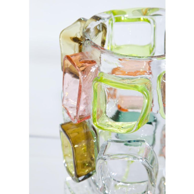 Art Glass Vase by Martin Potsch For Sale 1