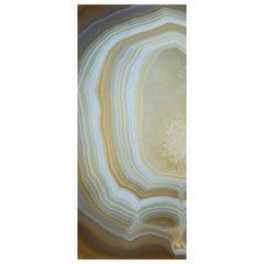 Art Glass Vetrite Aurora Decorative Panel for Multiple Uses Customizable