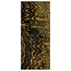 Art Glass Waves Decorative Panel for Multiple Uses Dimension Customizable