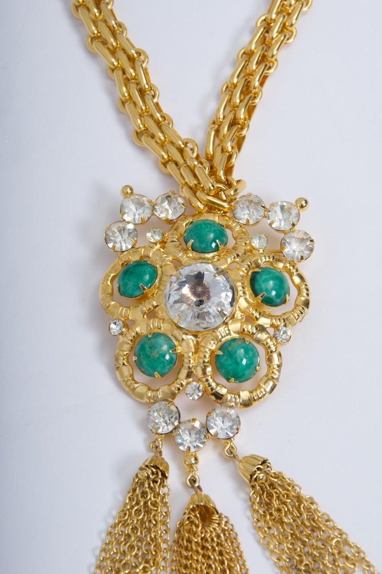 ART Large Necklace/Brooch In Excellent Condition For Sale In Alford, MA