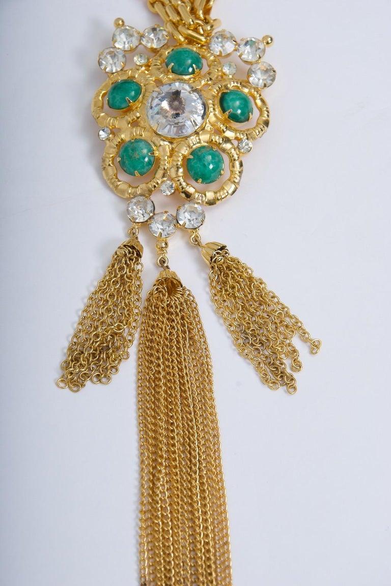 Women's or Men's ART Large Necklace/Brooch For Sale