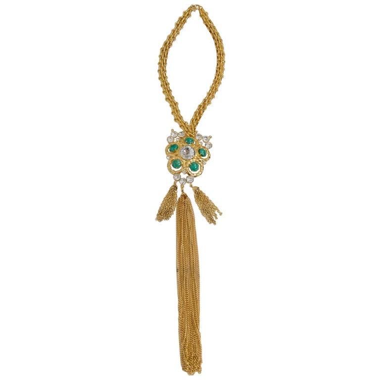 ART Large Necklace/Brooch For Sale