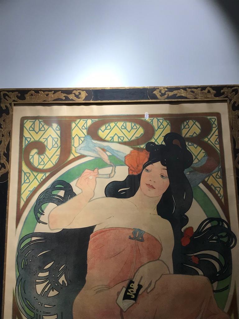 Art Nouveau Alphonse Mucha Original JOB Poster, 1898 5