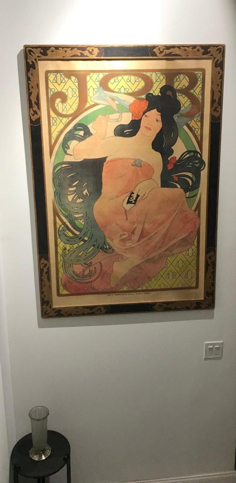 Art Nouveau Alphonse Mucha Original JOB Poster, 1898 8