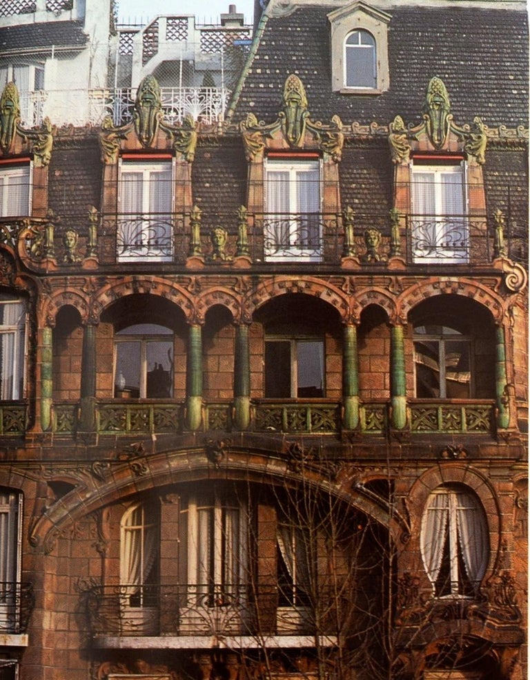 Art Nouveau Architecture by Frank Russell For Sale 5