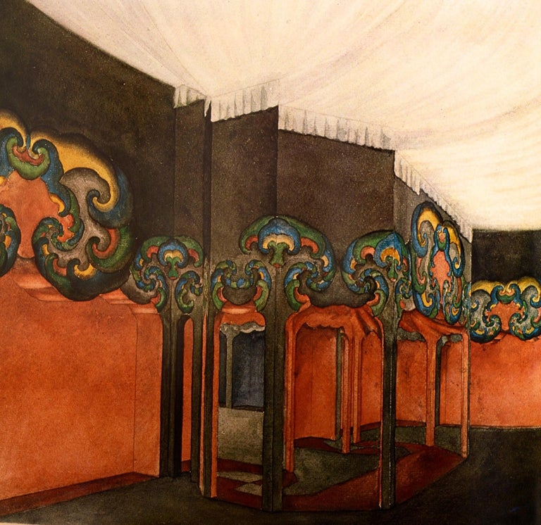 Art Nouveau Architecture by Frank Russell For Sale 10