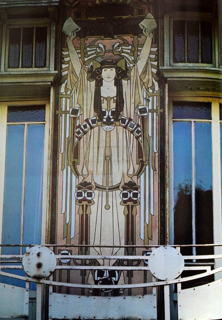 Art Nouveau Architecture by Frank Russell For Sale 11