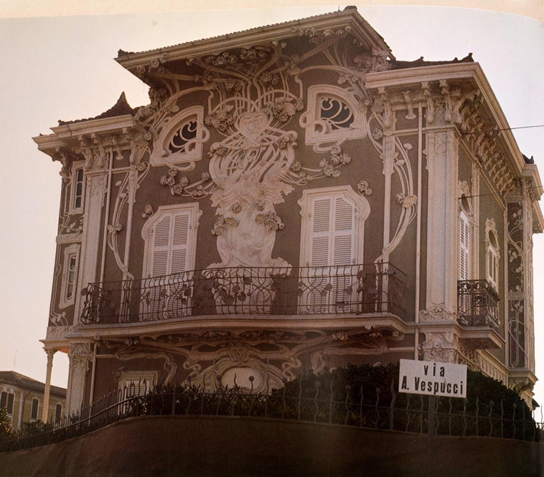 Art Nouveau Architecture by Frank Russell For Sale 13