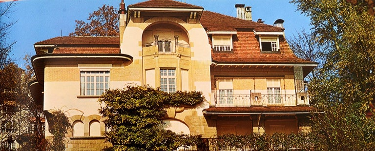 American Art Nouveau Architecture by Frank Russell For Sale