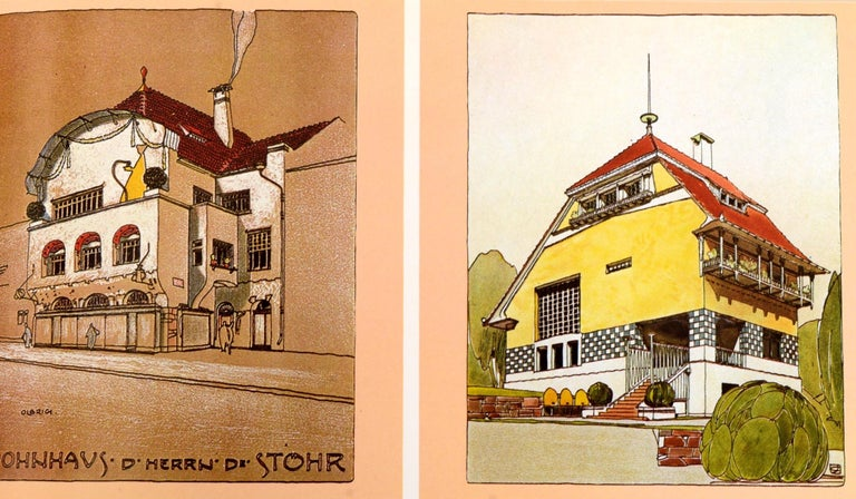 Art Nouveau Architecture by Frank Russell For Sale 1