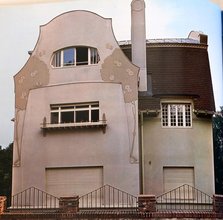 Art Nouveau Architecture by Frank Russell For Sale 3