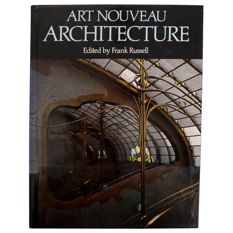 Art Nouveau Architecture by Frank Russell For Sale
