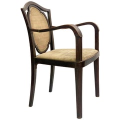 Art Nouveau Armchair by Otto Prutscher, Austria