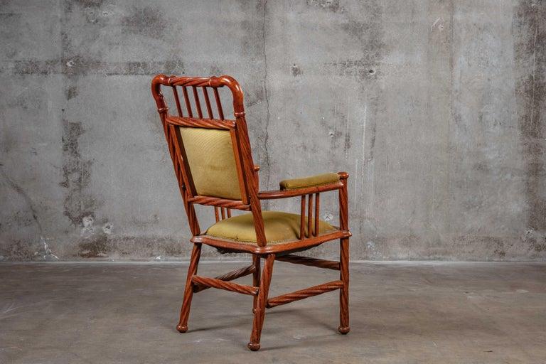 19th Century Art Nouveau Armchair For Sale