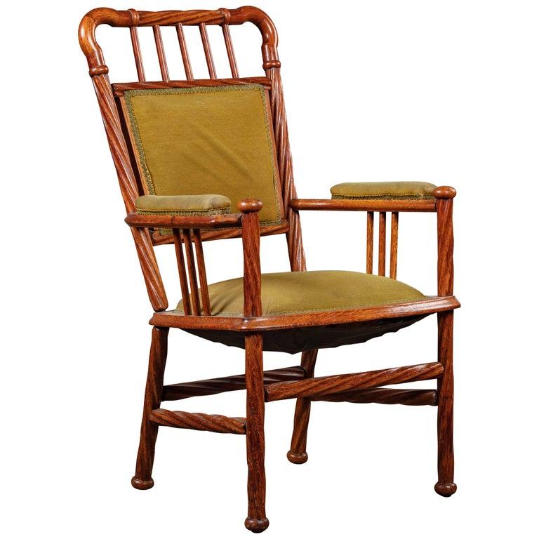 Art Nouveau Armchair For Sale