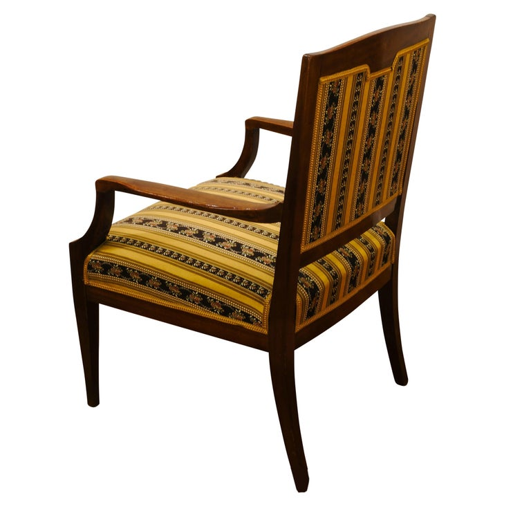 Art Nouveau Armchairs, Sweden, 1905-1920 In Fair Condition For Sale In New York, NY