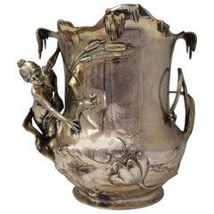 Art Nouveau Art Nouveau WMF Pewter Champagne Bucket