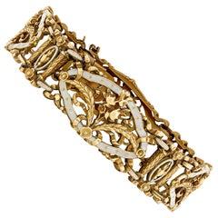 Art Nouveau Bracelet by Lucien Gautrait