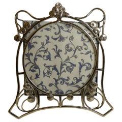 Art Nouveau Brass Photograph / Picture Frame, circa 1900